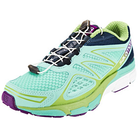 Salomon X-Scream 3D Trailrunning Shoes Women bubble blue/blue depth/tonic green